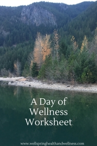 A Day of Wellness Cover